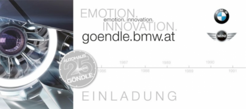 BMW Händlermarketing - Event