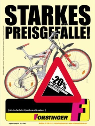 Forstinger - Aktionsblätter