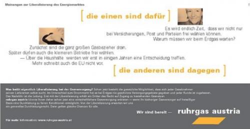 Ruhrgas Österreich - Imagekampagne
